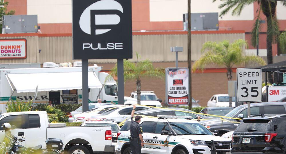 Veículo da polícia em Orlando, EUA