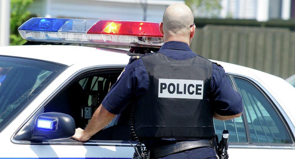 Agente de polícia norte-americano