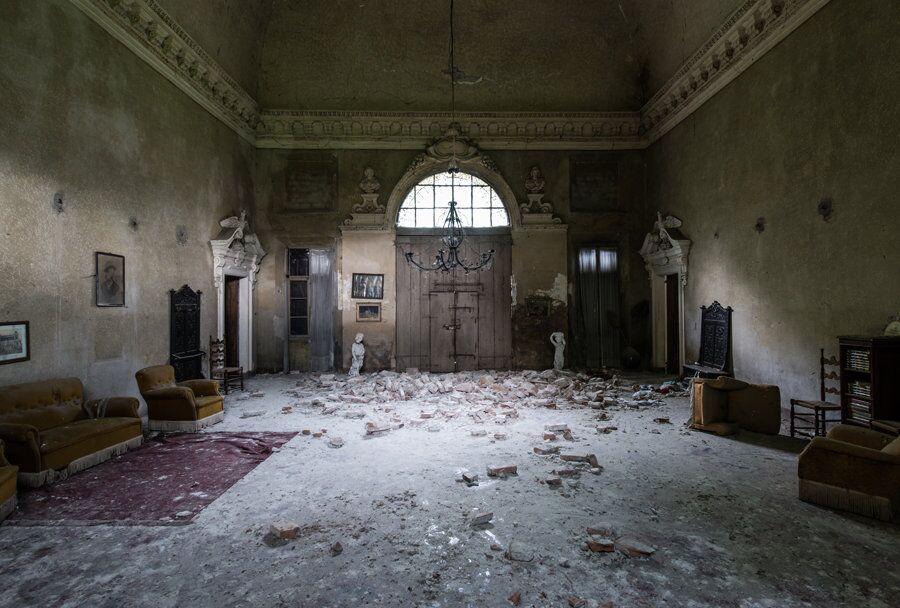 Onde o Tempo Não Passa: A Assombrosa Beleza de Lugares Abandonados