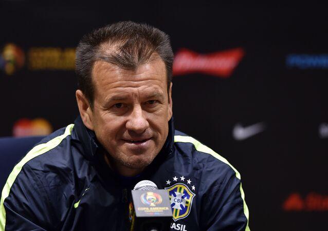 Dunga, técnico da seleção brasileira de futebol