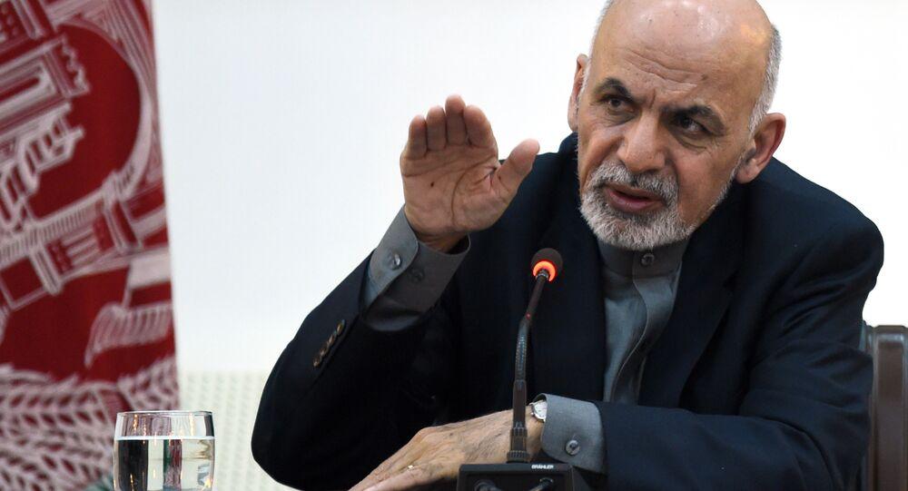 Presidente do Afeganistão, Ashraf Ghani