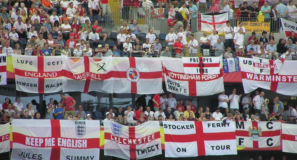 Torcida inglesa na Eurocopa