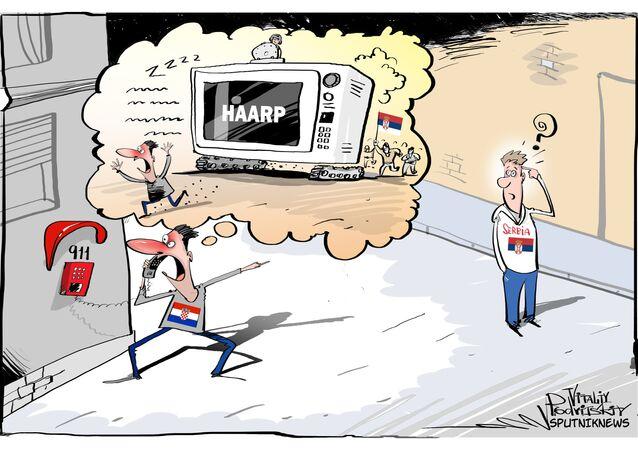 Croácia julga que Sérvia manipula mentes com HAARP