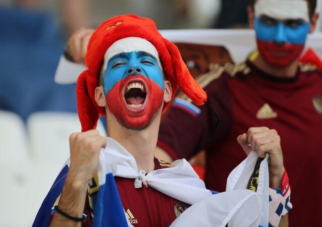 Torcida russa na Euro 2016