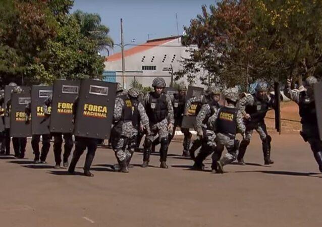 Força Nacional reforça segurança nos Jogos Rio 2016