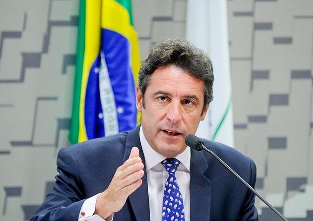 Embaixador da Argentina no Brasil , Carlos Magariños participa de audiência pública no Senado.