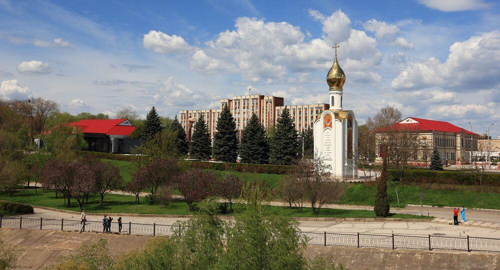 Tiraspol, a capital da Transnístria (arquivo)
