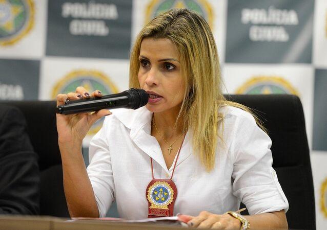Delegada Cristiana Bento indicia sete pessoas por estupro coletivo de jovem no Rio.