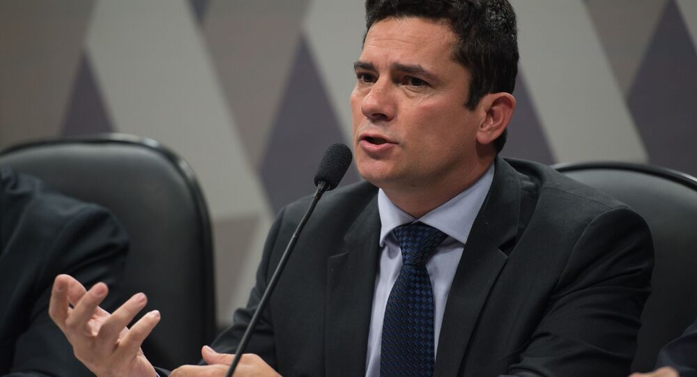 Sérgio Moro, ministro da Justiça e Segurança Pública do Brasil (arquivo)
