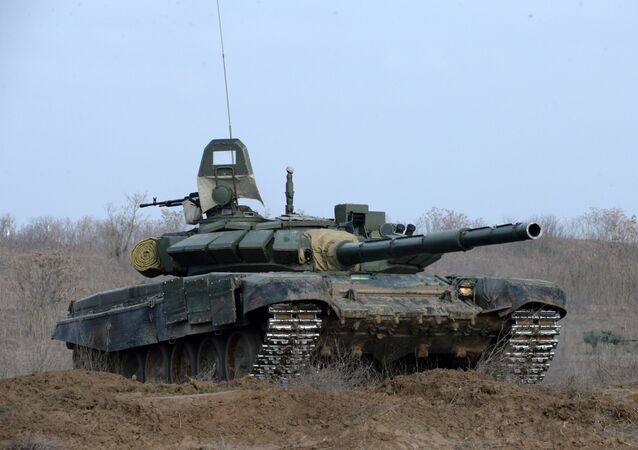 Tanque T-72B3 (imagem referencial)