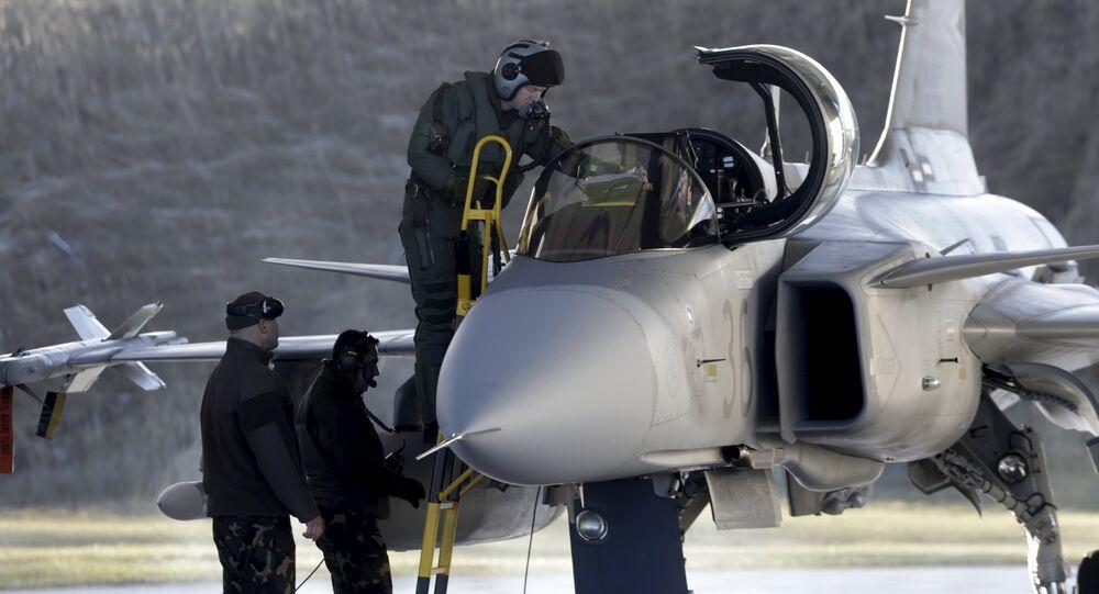 Caça Gripen JAS-39