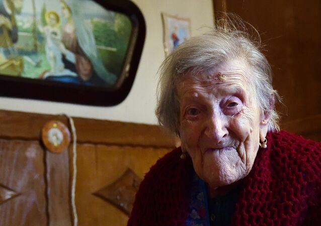 Emma Morano nasceu em 1899