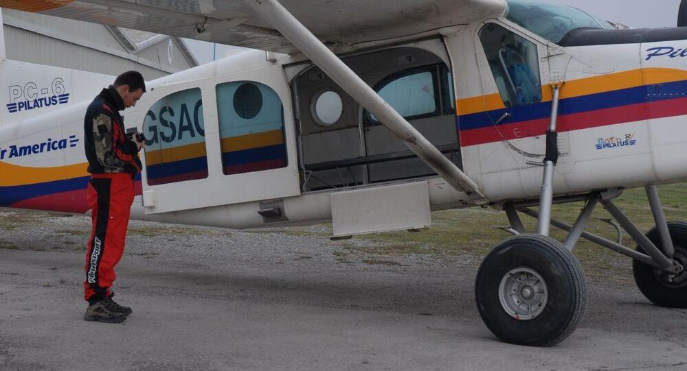 A aeronave Pilatus PC-6