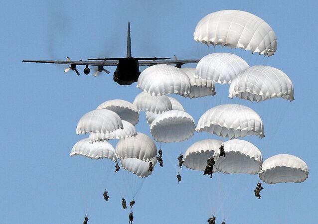Os exercícios militares da OTAN Anaconda 2016