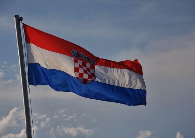 Bandeira da Croácia
