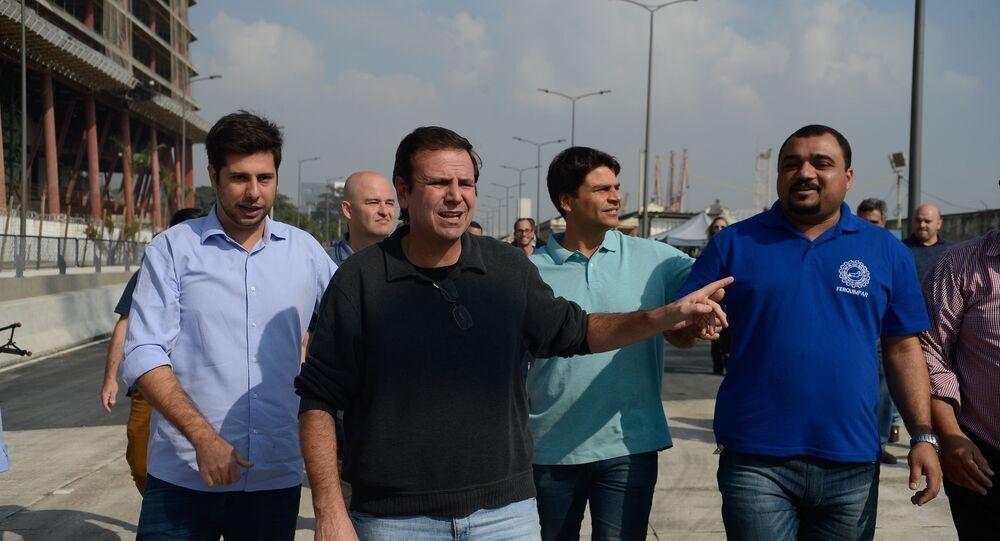 Prefeitura inaugura parte do Túnel Prefeito Marcello Alencar da Via Expressa na zona portuária do Rio