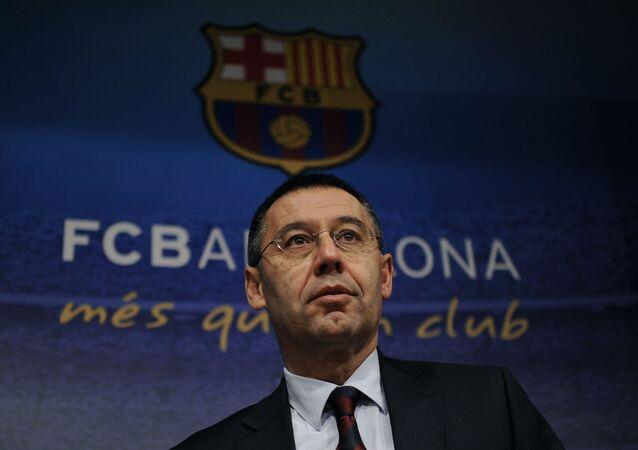 Josep Maria Bartomeu, presidente do Barcelona.