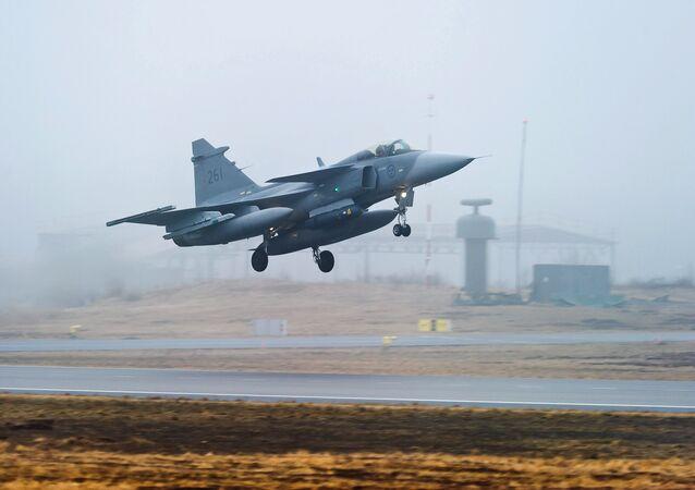 JAS 39 Gripen da Força Aérea sueca