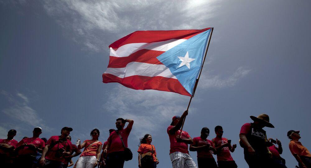 Bandeira porto-riquenha