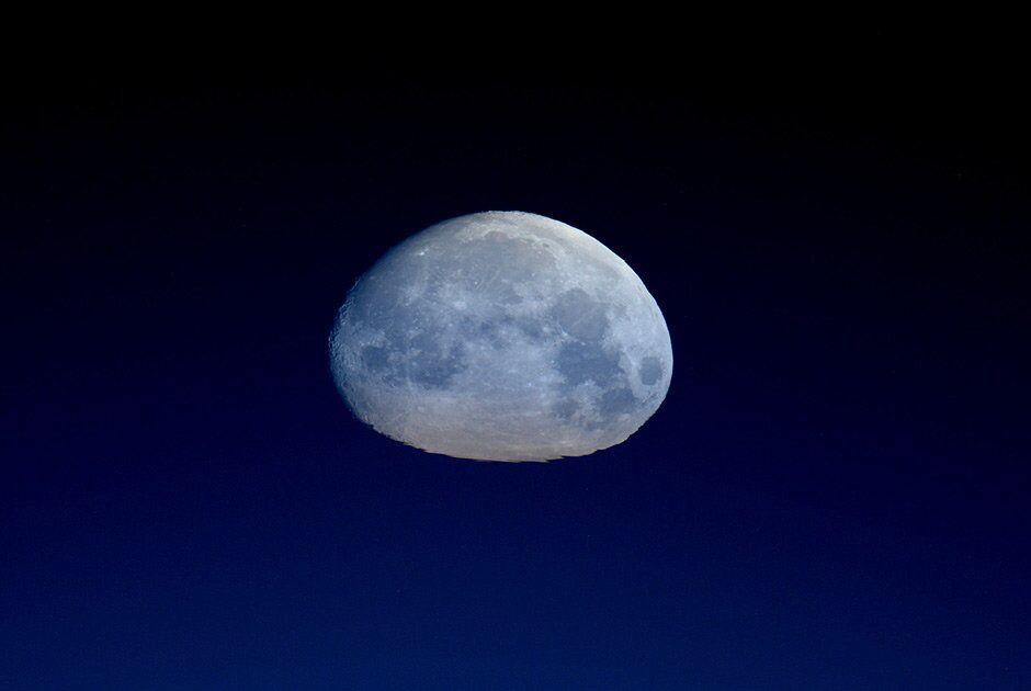 A Lua vista do espaço