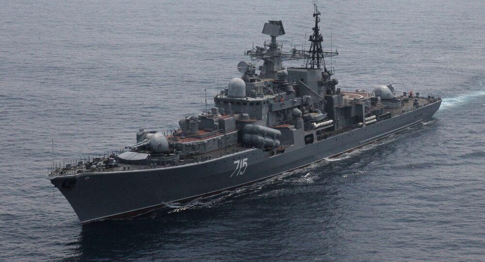Destróier Bystryi da Frota russa do Pacífico