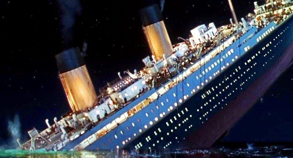 O Titanic do filme de James Cameron