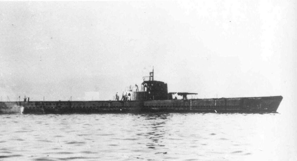 Submarino americano da Segunda Guerra Mundial USS Herring SS-233 (imagem referencial)