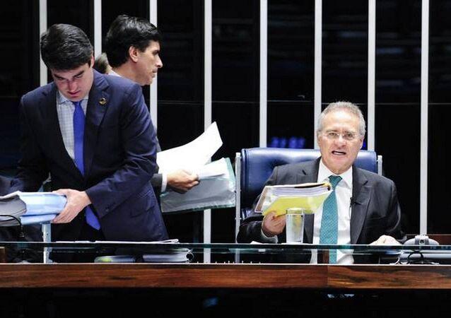 Presidente do Senado, Renan Calheiros diz que não mudará lei da delação premiada durante sua gestão