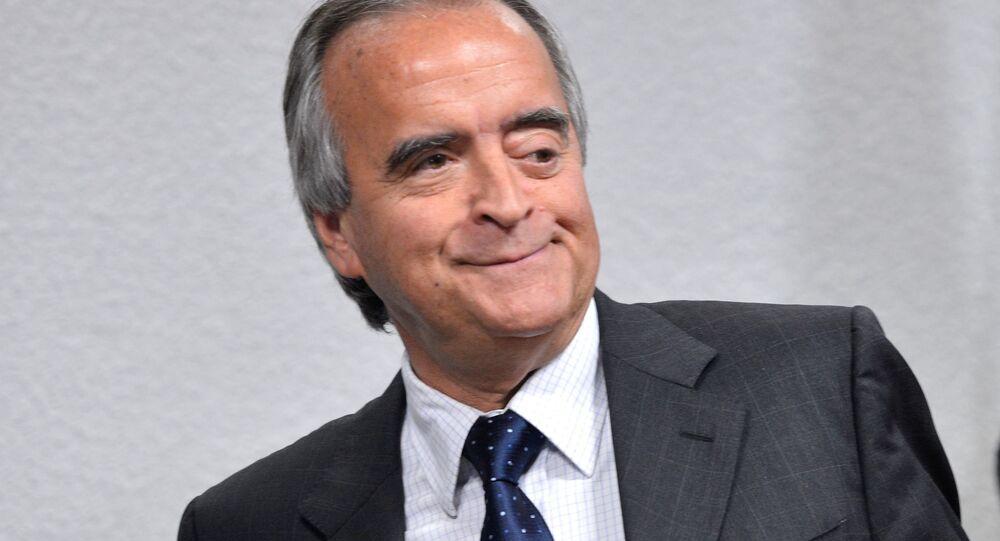 Nestor Cerveró, ex-diretor da área internacional da Petrobras, está em prisão domiciliar