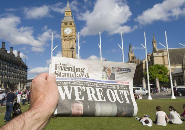 Reino Unido realizou um referendo de saída da UE