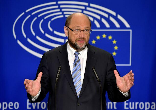 Presidente do Parlamento Europeu, Martin Schulz