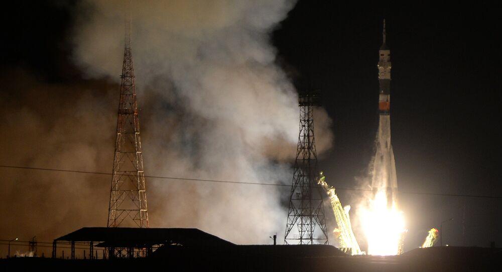 Soyuz TMA-15M spacecraft