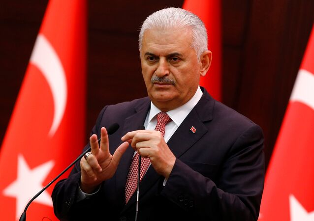 Em 27 de junho de 2016, o primeiro-ministro da Turquia, Binali Yildirim (na foto) se dirigiu à imprensa em Ancara falando, entre outras coisas, de Alparslan Celik, acusado de ter matado o piloto russo Oleg Peshkov no final de 2015