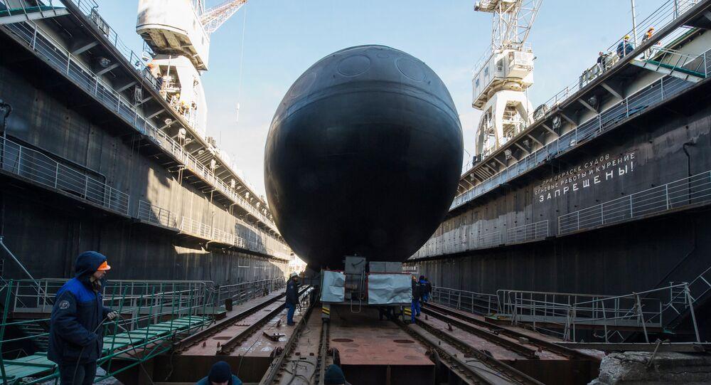 Veliky Novgorod, submarino a diesel de quarta geração do projeto 636