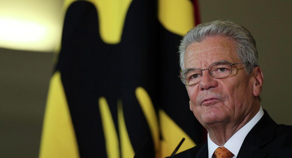 Presidente da Alemanha, Joachim Gauck