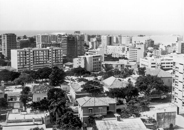 Uma foto de arquivo da cidade de Luanda, capital de Angola