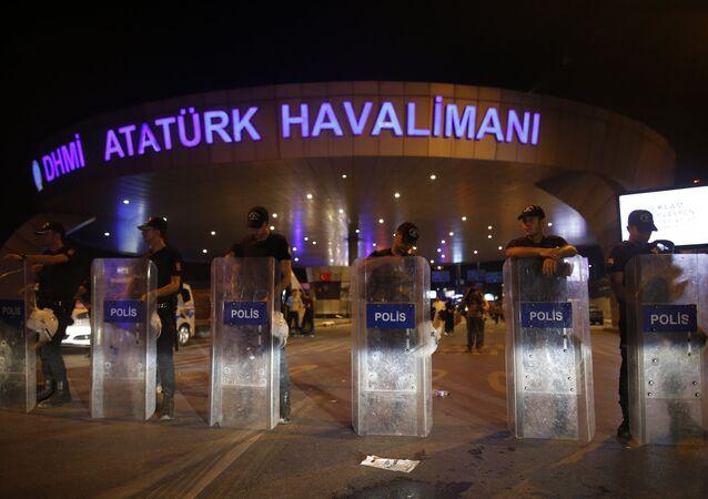 Aeroporto de Atatürk, em Istambul
