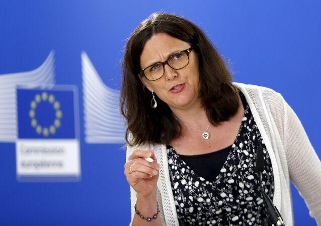 Cecilia Malmstrom, comissária europeia para o Comércio