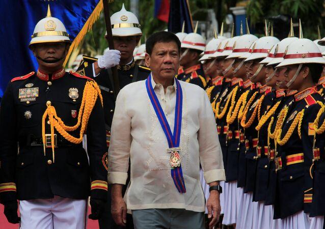 Presidente das Filipinas, Rodrigo Duterte