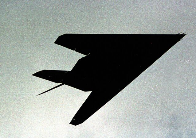 F-117 visto perto de Kosovo em 4 de abril de 1999