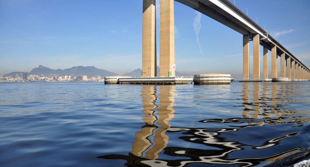Após detenção, Capitão América ameaçou se jogar da Ponte Rio-Niterói