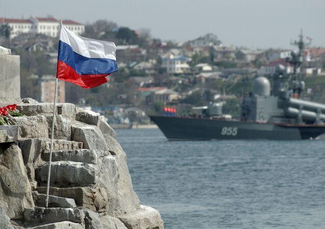 Cidade de Sevastopol na Crimeia
