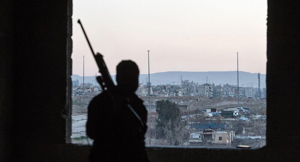 Jobar, distrito de Damasco, na Síria