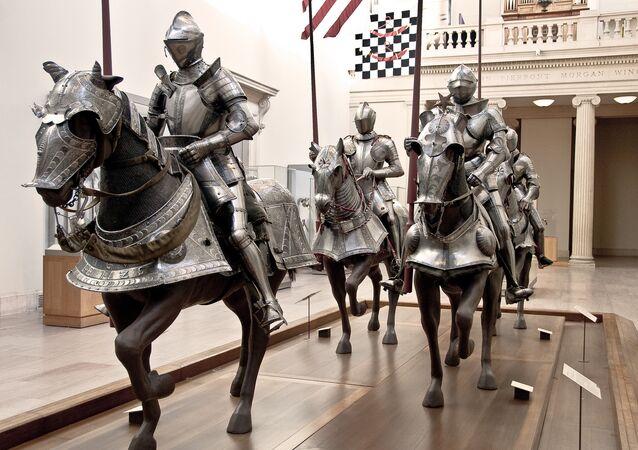 Os cavaleiros medievais