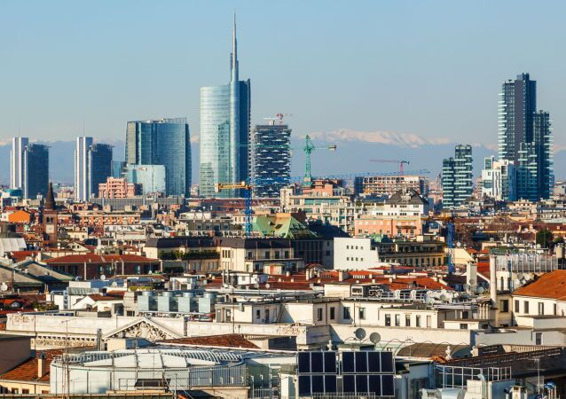 Milão, capital da Lombardia