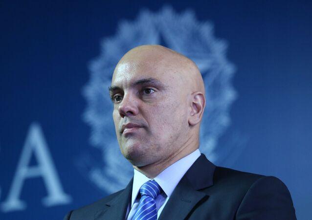 Alexandre de Moraes, ministro da Justiça