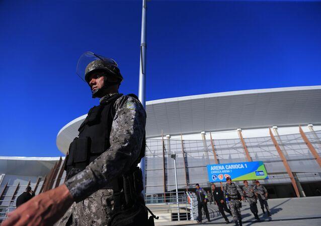Força Nacional assume a segurança das áreas de competições dos jogos Rio 2016.