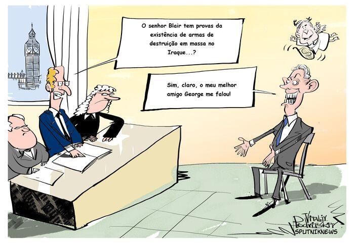 A comissão especial divulgou os resultados da investigação das ações do governo Blair