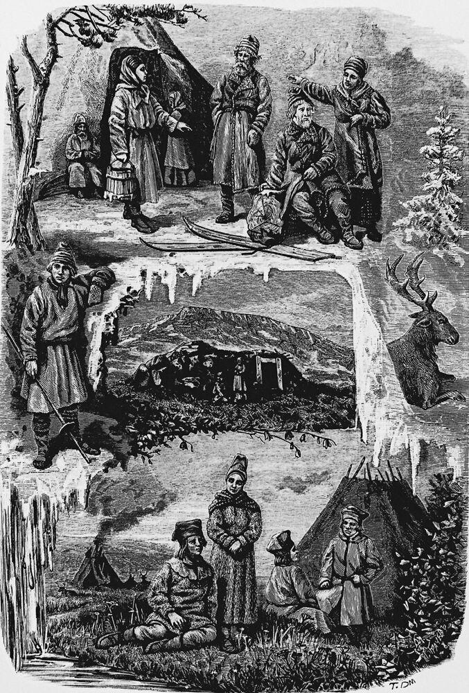 Vida dos sámi na Península de Kola