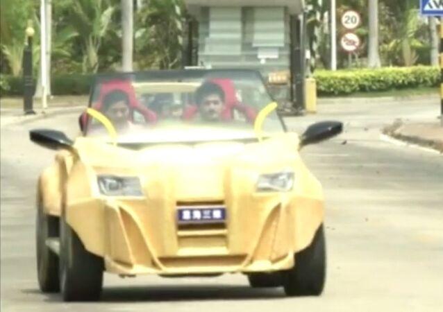 Carro feito em impressora 3D
